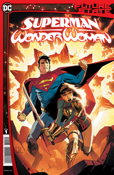 SUPERMAN WONDER WOMAN #1 Collector's Pack Pre-order