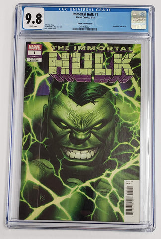 IMMORTAL HULK #1 1:50 DALE KEOWN VARIANT COVER CGC 9.8