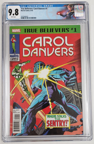 TRUE BELIEVERS CAROL DANVERS #1 CGC 9.8