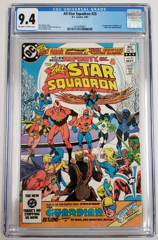 All-Star Squadron #25 CGC 9.4