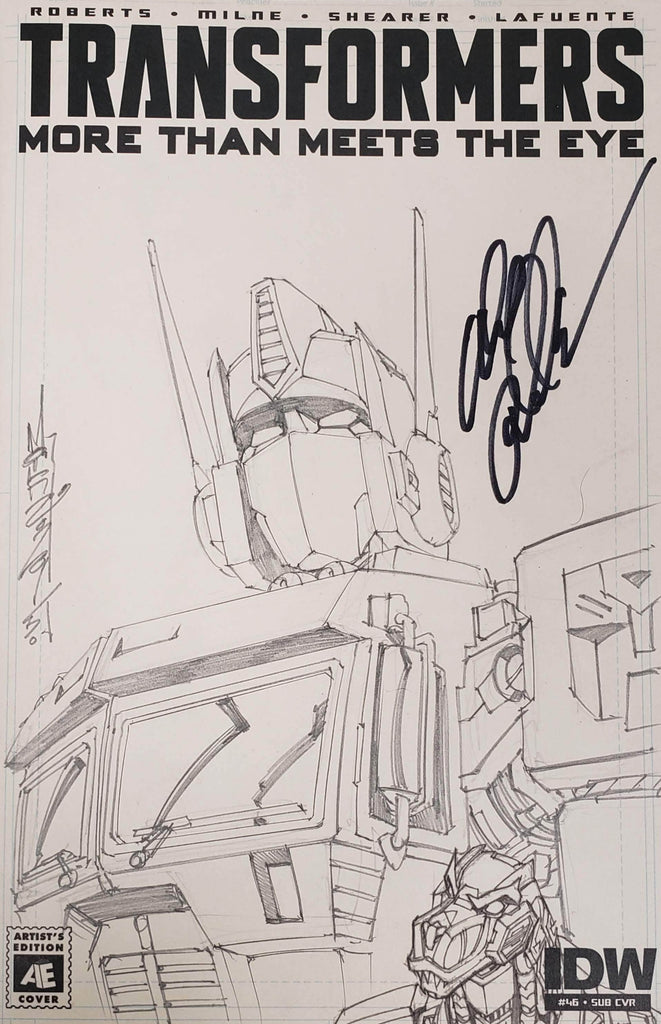 ALEX MILNE - SKETCH - TRANSFORMERS #46 OPTIMUS PRIME