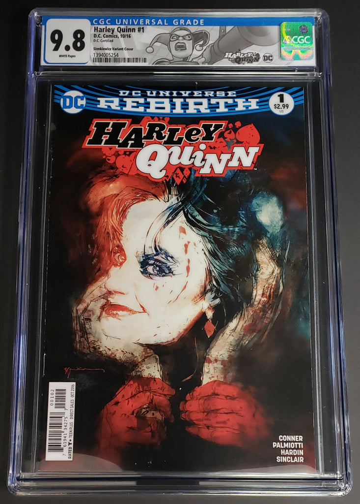 Harley Quinn #1 CGC 9.8 - DC CERTIFIED LABEL