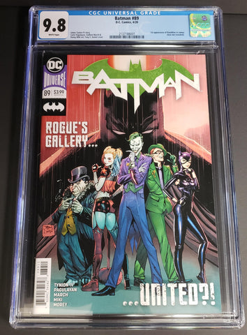 Batman #89 CGC 9.8 - 1st Cameo of Punchline