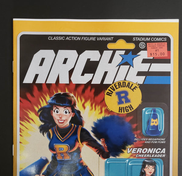 ARCHIE - GI JOE Homage Variant Cover 3 Pack - LOW GRADE