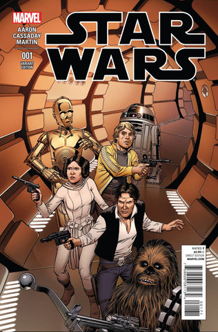 STAR WARS #1 MCLEOD VARIANT