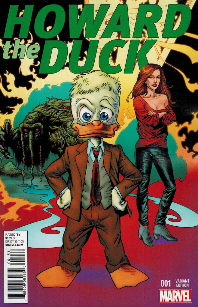 HOWARD THE DUCK #1 MAYERICK VARIANT