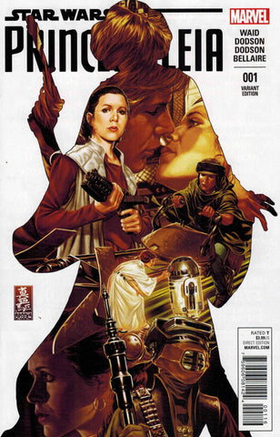 PRINCESS LEIA #1 (OF 5) BROOKS VARIANT