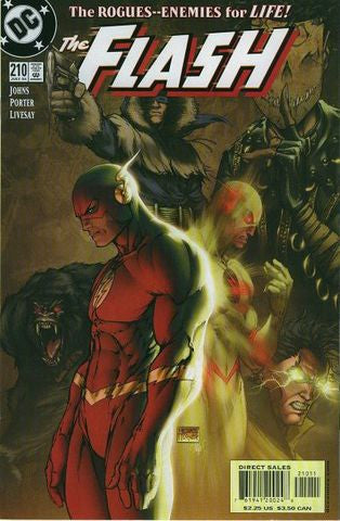 FLASH #210 MICHAEL TURNER COVER