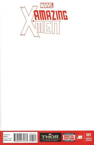 Amazing X-Men #1 Blank Cover Variant