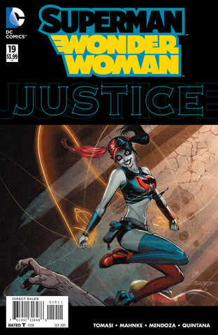 SUPERMAN WONDER WOMAN #19 HARLEY QUINN