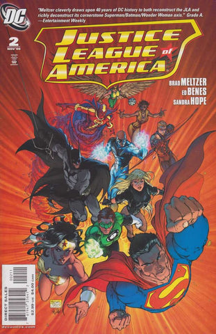 JUSTICE LEAGUE OF AMERICA (2006) #2 Michael Turner Cover