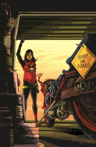 SPIDER-WOMAN #2 1:25 DOYLE VARIANT COVER