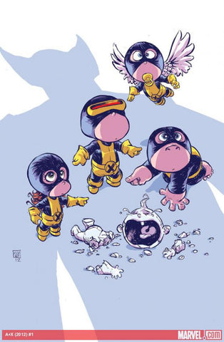 ALL NEW X-MEN #1 Skottie Young Variant