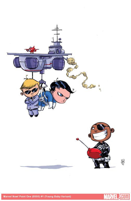 MARVEL POINT ONE #1 SKOTTIE YOUNG VARIANT