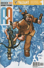 A&A: The Adventures of Archer & Armstrong #1 2nd Printing