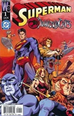 SUPERMAN THUNDERCATS - 2 Cover Lot