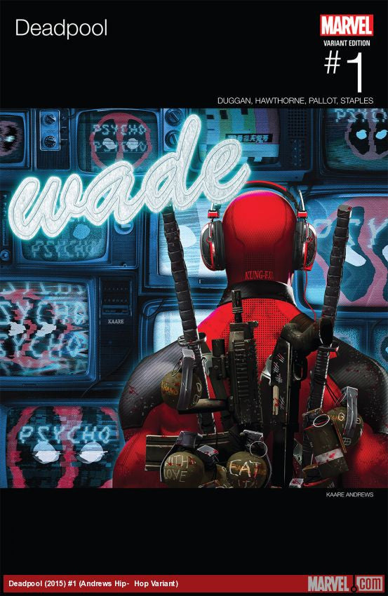 DEADPOOL #1 HIP HOP VARIANT