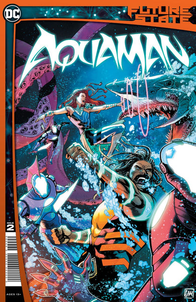 AQUAMAN #2 Collector's Pack Pre-order