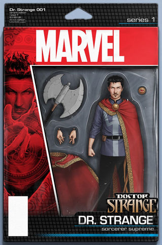 DOCTOR STRANGE #1 CHRISTOPHER ACTION FIGURE VARIANT