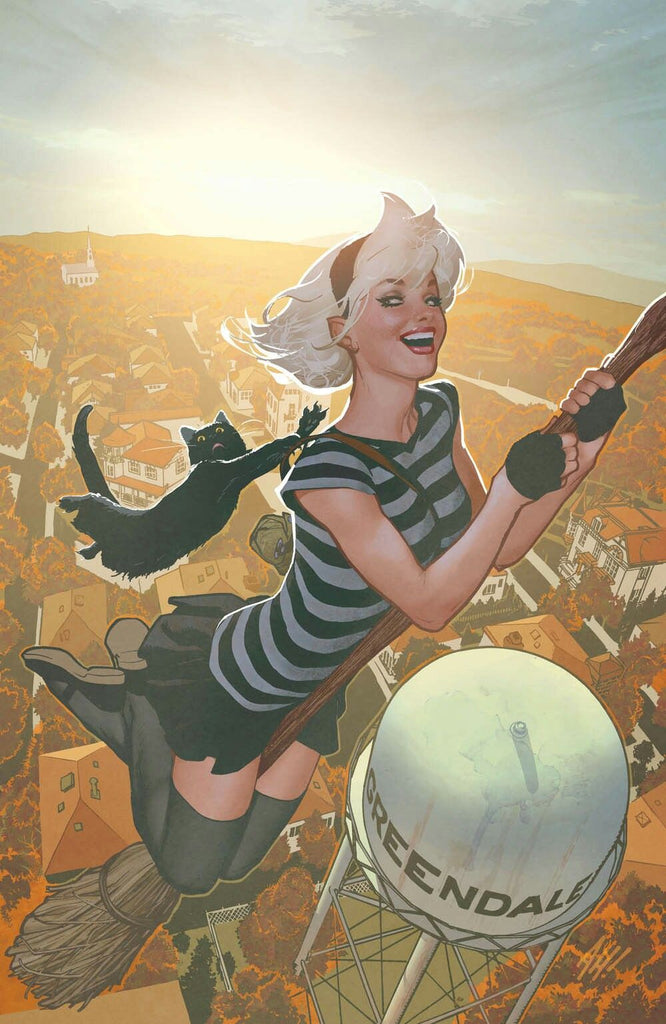 SABRINA THE TEENAGE WITCH #1 EXCLUSIVE ADAM HUGHES VIRGIN VARIANT