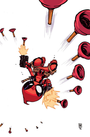 DEADPOOL #7 Skottie Young Variant