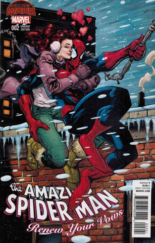 AMAZING SPIDER-MAN RENEW YOUR VOWS #2 STEGMAN VARIANT SWA