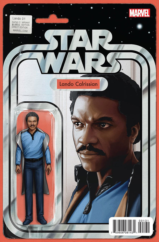 STAR WARS LANDO #1 (OF 5) CHISTOPHER ACTION FIGURE