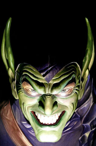 AMAZING SPIDER-MAN GREEN GOBLIN ALEX ROSS POSTER