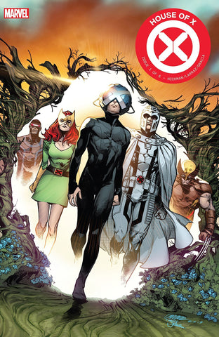 HOUSE OF X #1 COVER BY PEPE LARRAZ