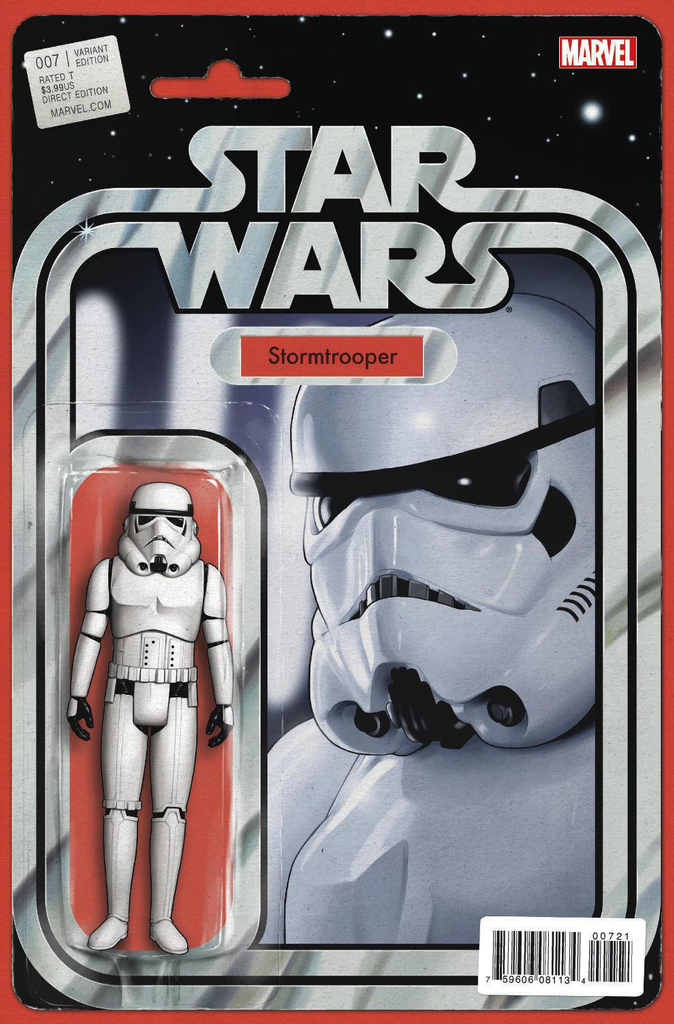 STAR WARS #7 CHISTOPHER STORMTROOPER ACTION FIGURE VARIANT