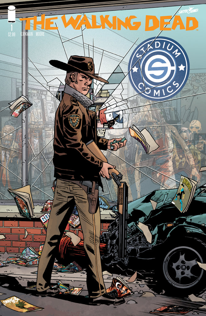 WALKING DEAD #1 15TH ANNIVERSARY STADIUM EXCLUSIVE VARIANT