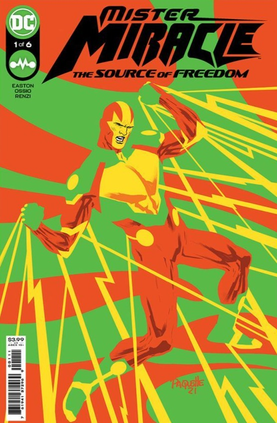 MISTER MIRACLE THE SOURCE OF FREEDOM #1 PRE-ORDER