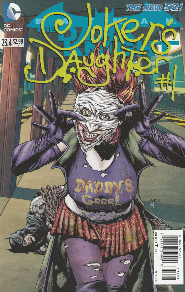 BATMAN THE DARK KNIGHT #23.4 JOKERS DAUGHTER STANDARD COVER
