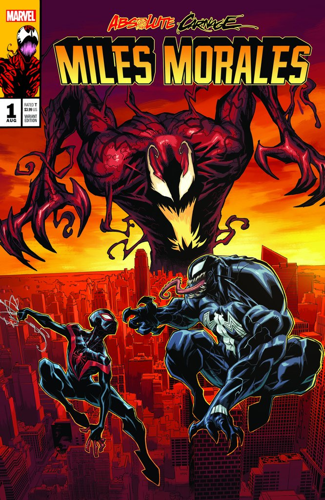 ABSOLUTE CARNAGE MILES MORALES #1 Exclusive Homage Variant A
