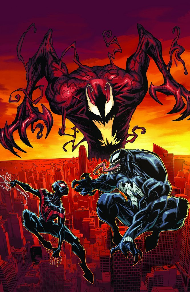 ABSOLUTE CARNAGE MILES MORALES #1 Virgin Homage Variant