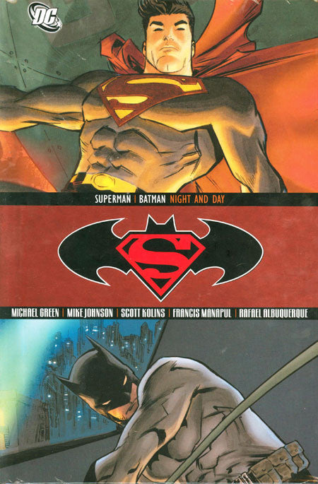 SUPERMAN BATMAN NIGHT AND DAY HC