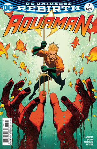 AQUAMAN (REBIRTH) #7 VARIANT