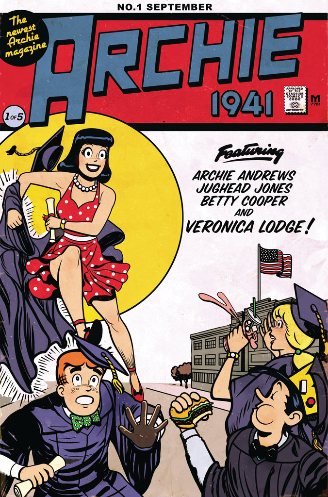ARCHIE 1941 #1 EXCLUSIVE Wonder Woman Homage Variant Cover