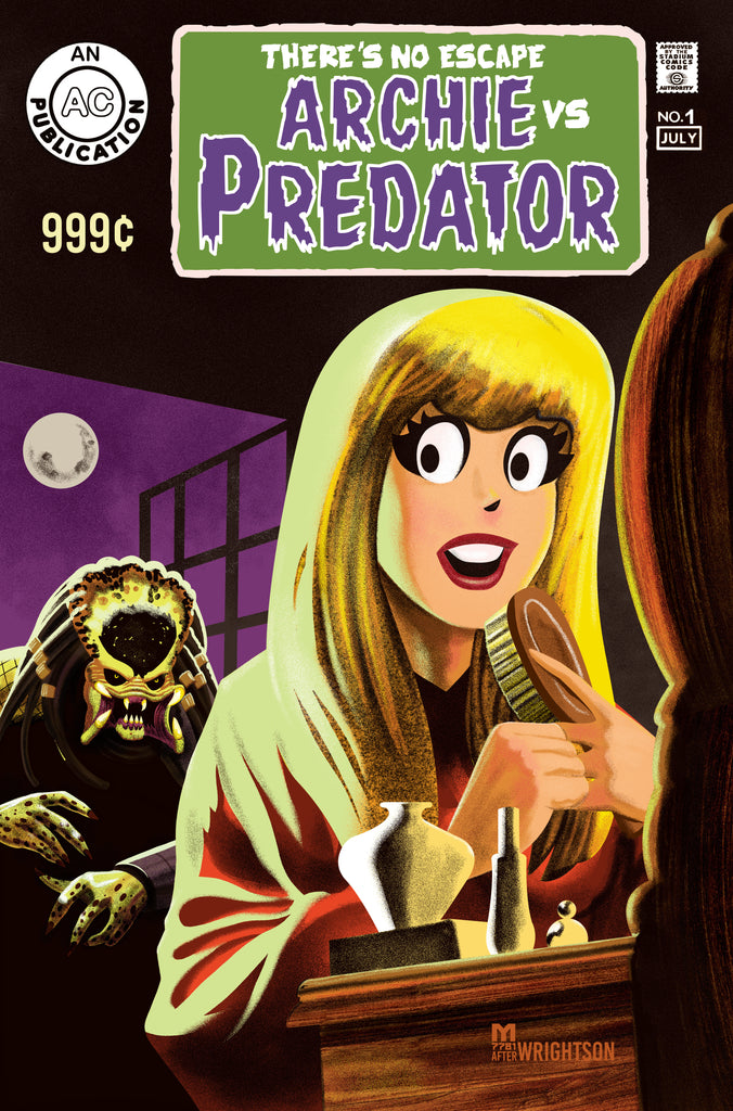 ARCHIE VS PREDATOR 2 #1 SWAMP THING Homage Variant Covers