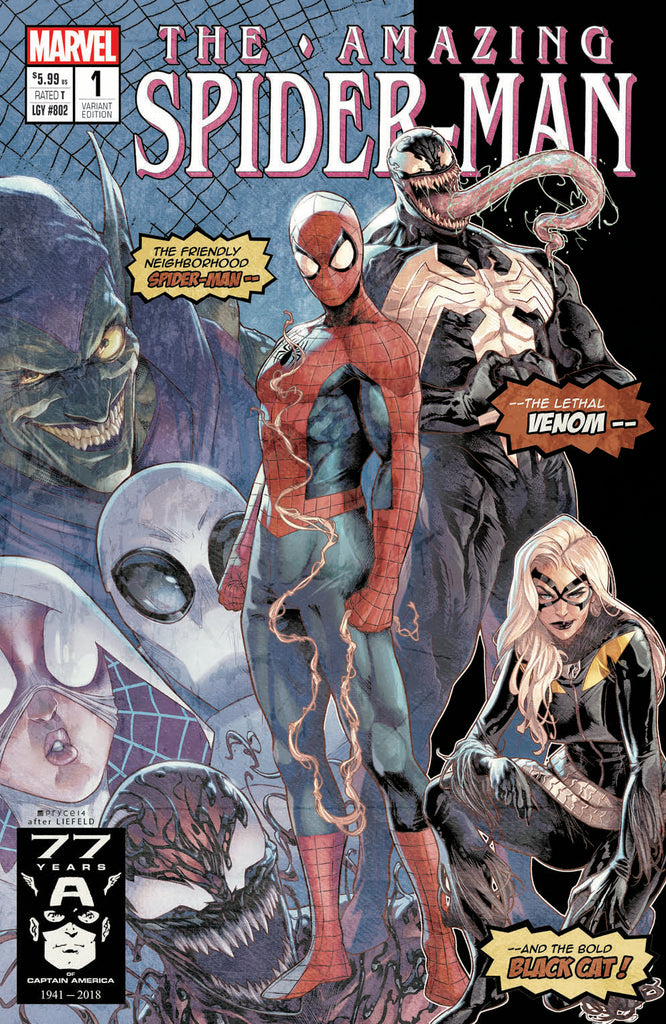 AMAZING SPIDER-MAN Exclusive Homage Variant Cover 4-Pack