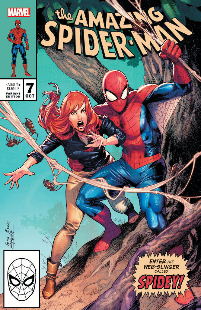 AMAZING SPIDER-MAN #7 Exclusive Jamal Campbell Homage Variant Covers
