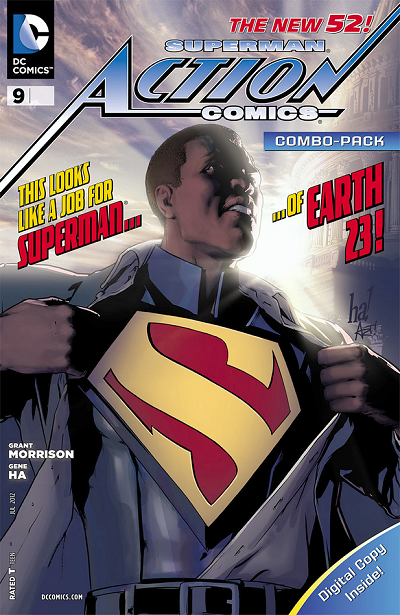 ACTION COMICS #9 combo pack variant