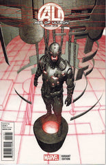 AGE OF ULTRON #1 1:25 HE KIM ULTRON VARIANT