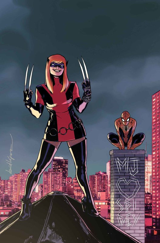 ALL-NEW WOLVERINE #21 Mary Jane Variant Cover by David Lopez