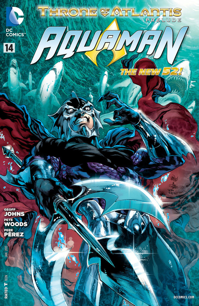 AQUAMAN (NEW 52) #14