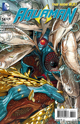 AQUAMAN (NEW 52) #34