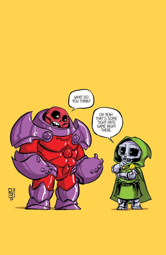 AVENGERS AND X-MEN AXIS #1 (OF 9) SKOTTIE YOUNG VARIANT