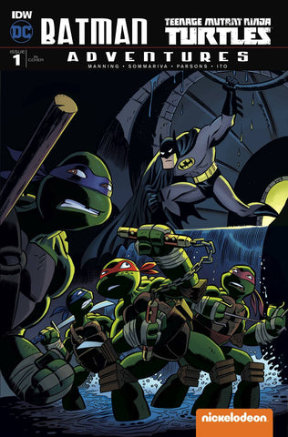 Batman TMNT Adventures #1 Collector's Pack Pre-order