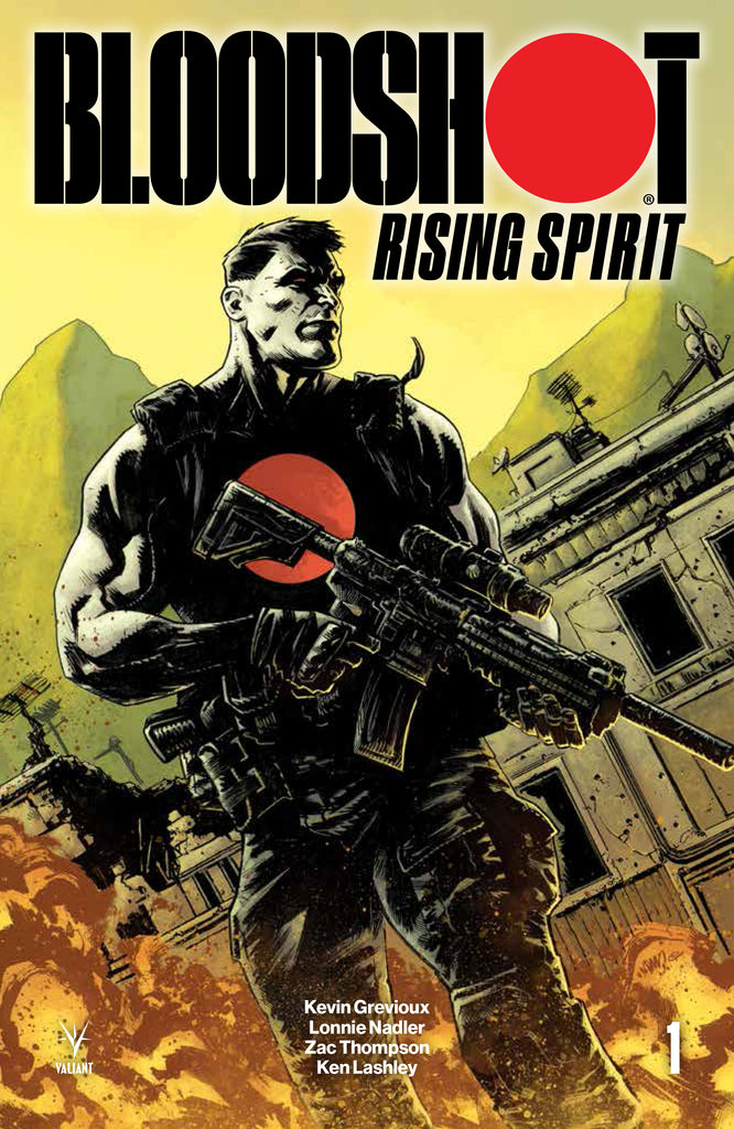 BLOODSHOT RISING SPIRIT #1 Exclusive Adam Gorham Variant
