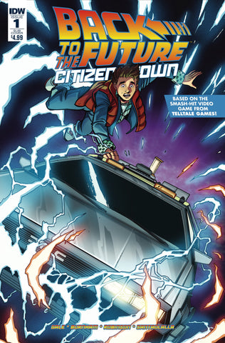 Back To The Future Citizen Brown #1 Sub Cover